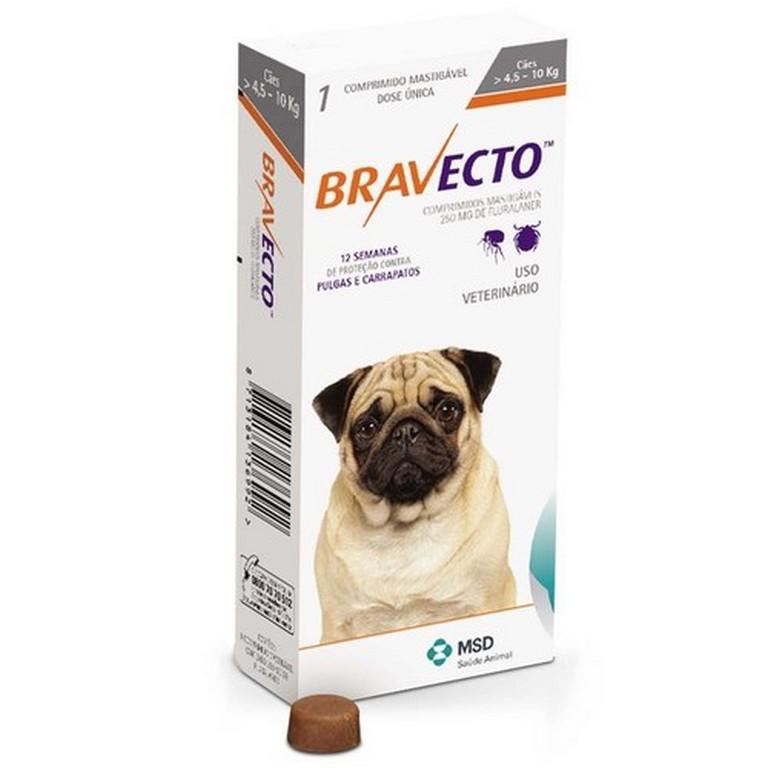 Bravecto 4.5KG - 10KG (250 mg)