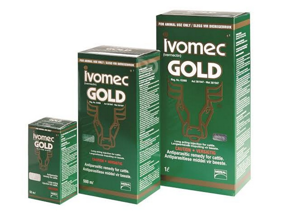 Ivomec Gold (50ML, 500ML e 1L)