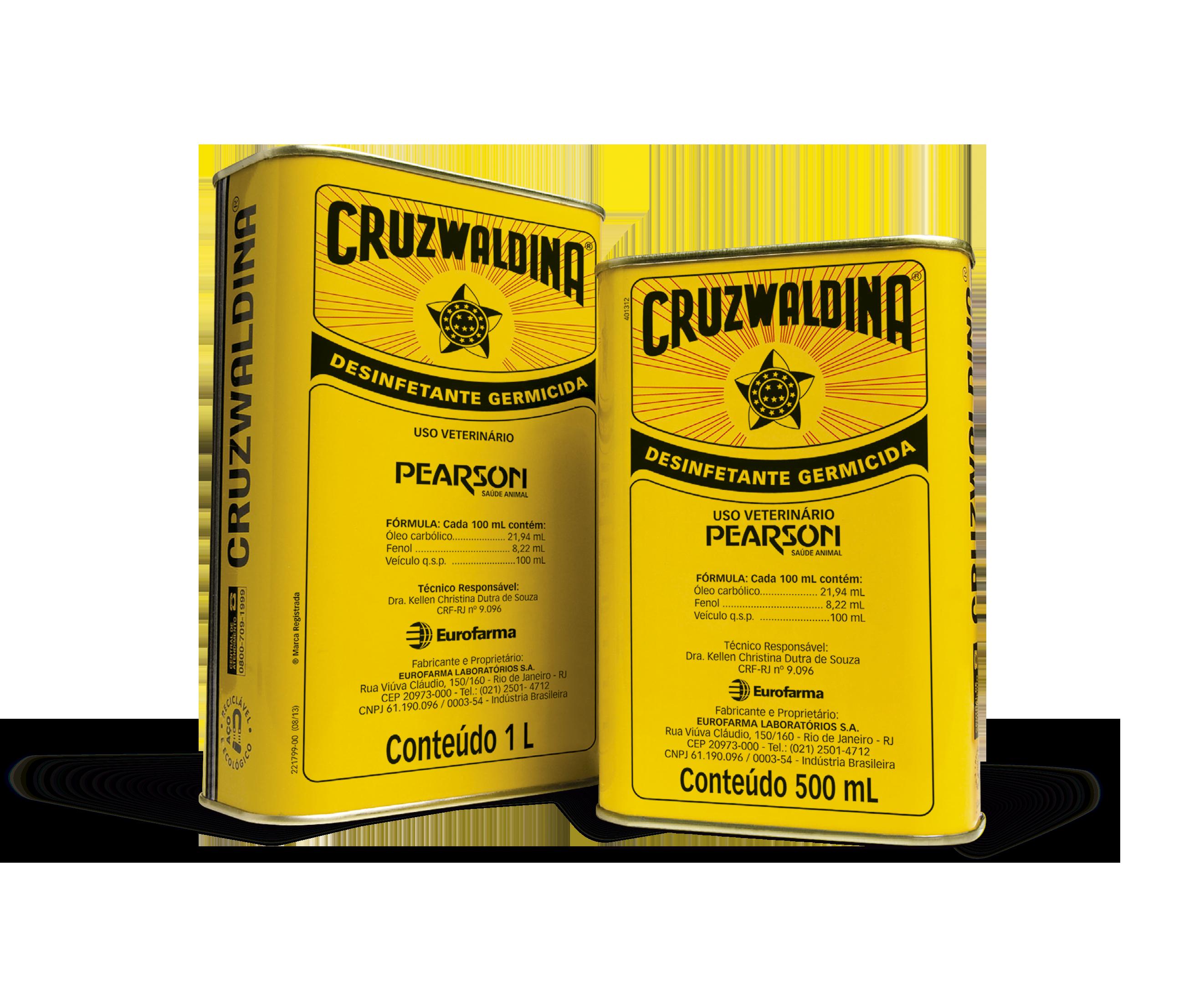 Desinfetante Cruzwaldina 500ML