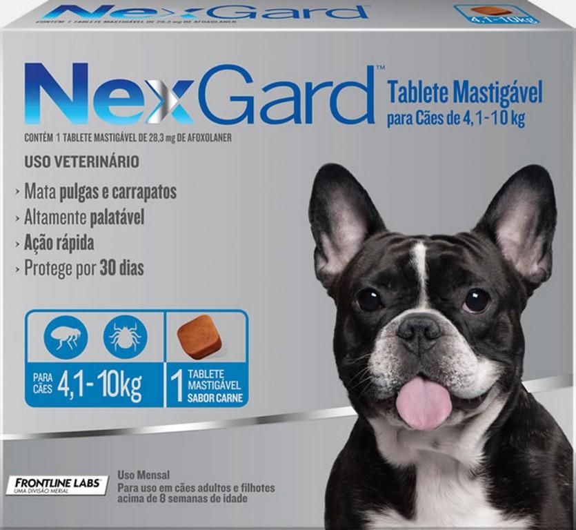 NexGard 4KG - 10KG (1 comprimido)