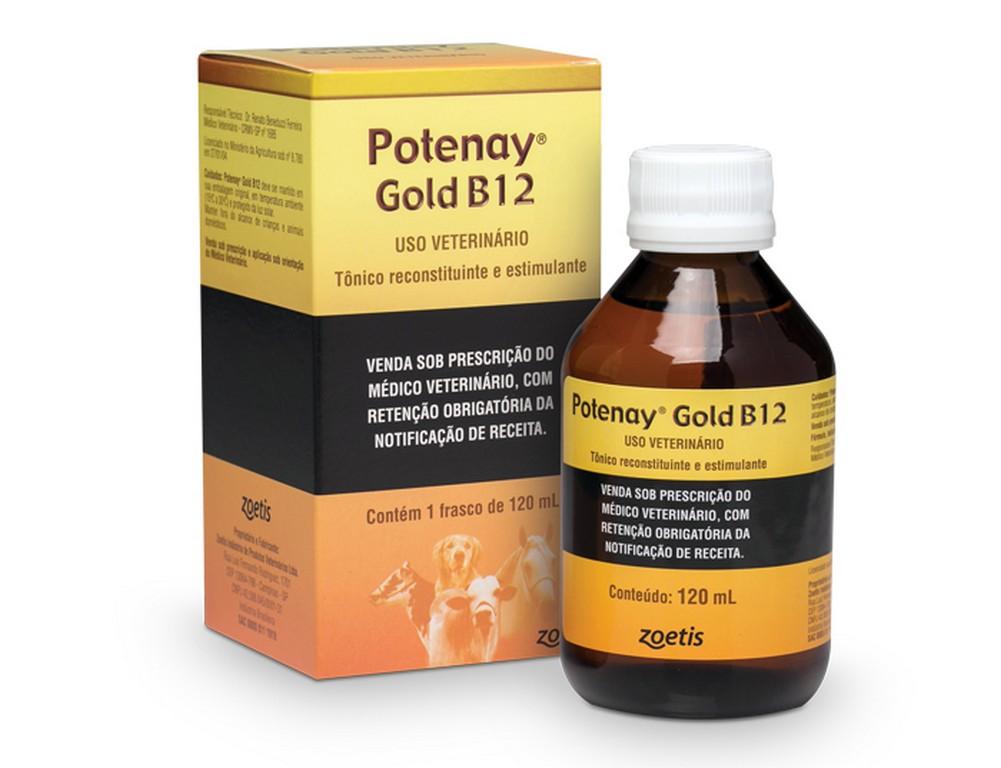 Potenay Gold B12 Injetável