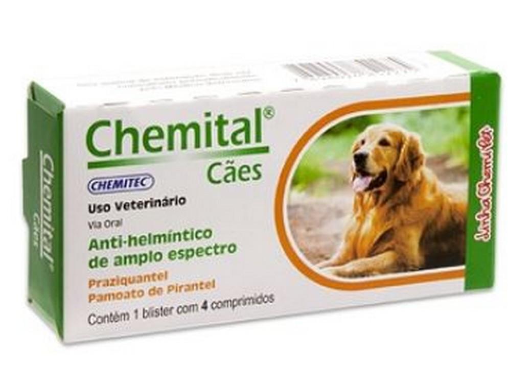 Chemital Cães 660MG (4 comprimidos)