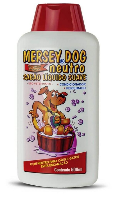 Shampoo Mersey Dog Neutro 500ML