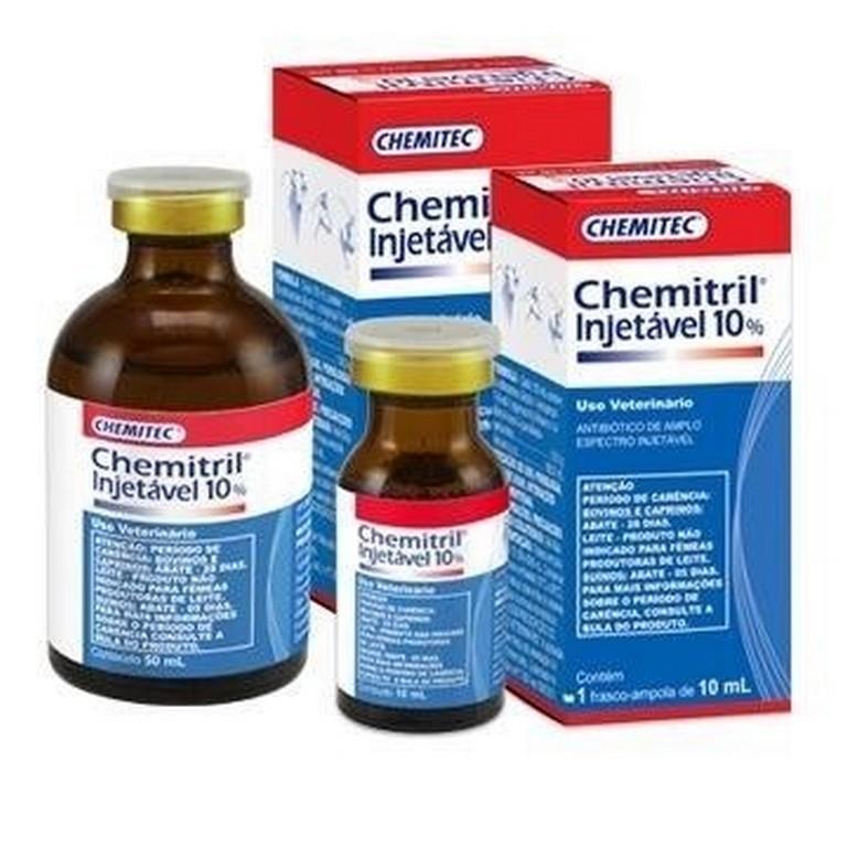 Chemitril 10% Injetável (10ML ou 50ML)