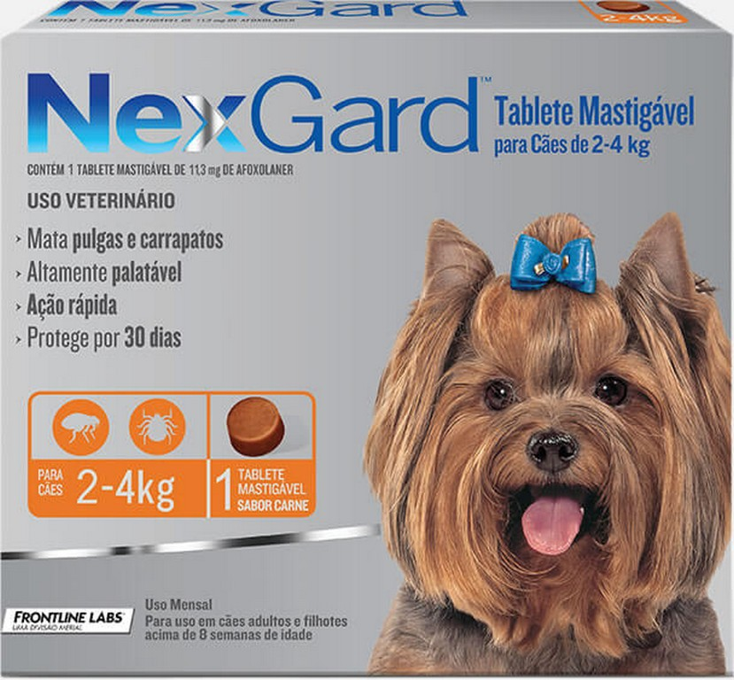 NexGard 2 - 4KG (1 comprimido)