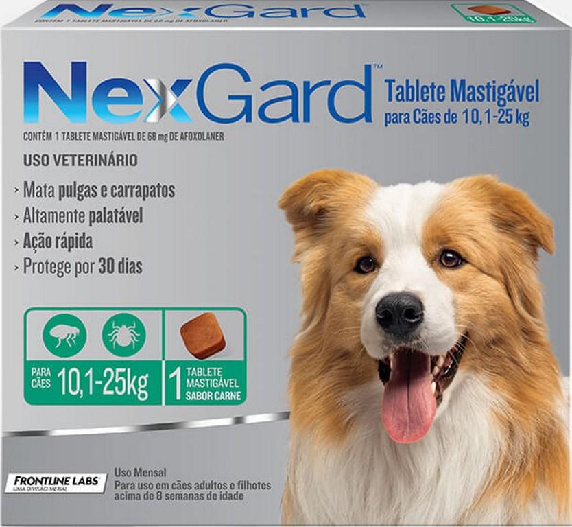 NexGard 10KG - 25KG (1 comprimido)