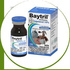 Baytril Injetável (5% ou 10%)