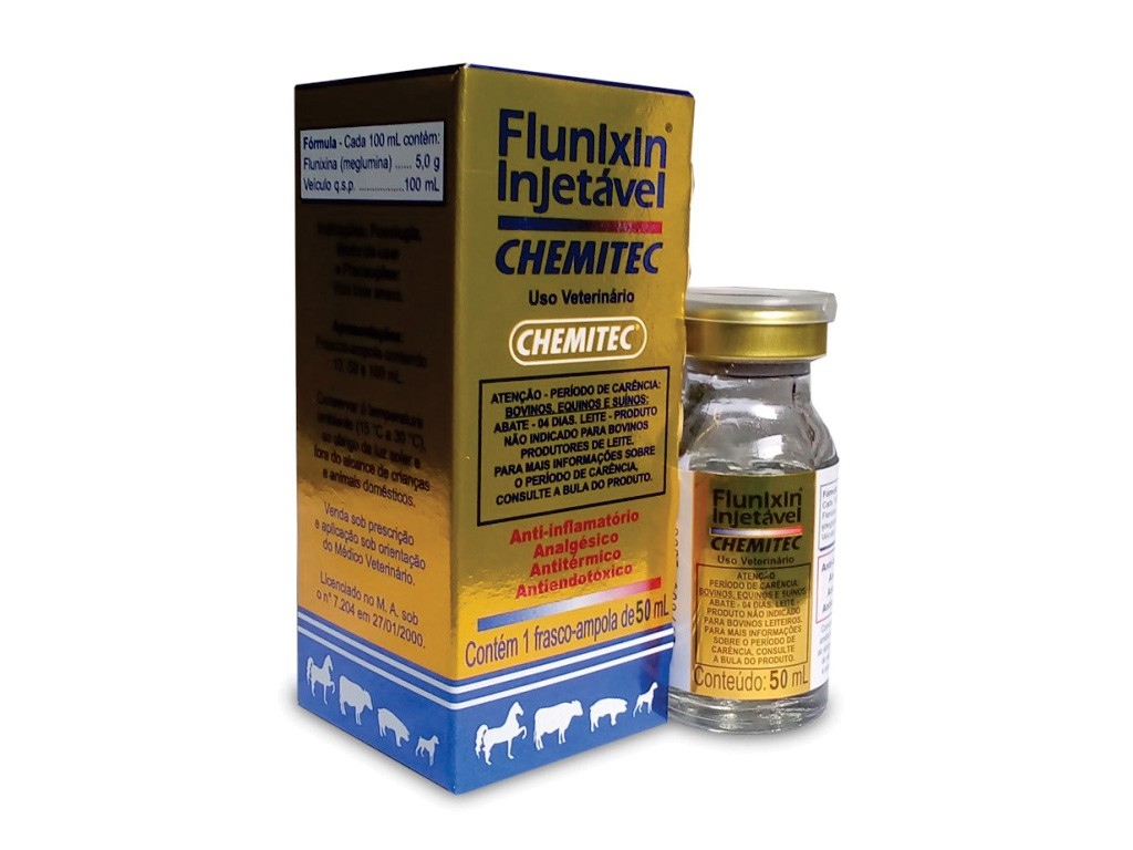 Flunixin (50ML ou 100ML) Injetável