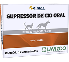 Supressor de Cio Oral (12 comprimidos)
