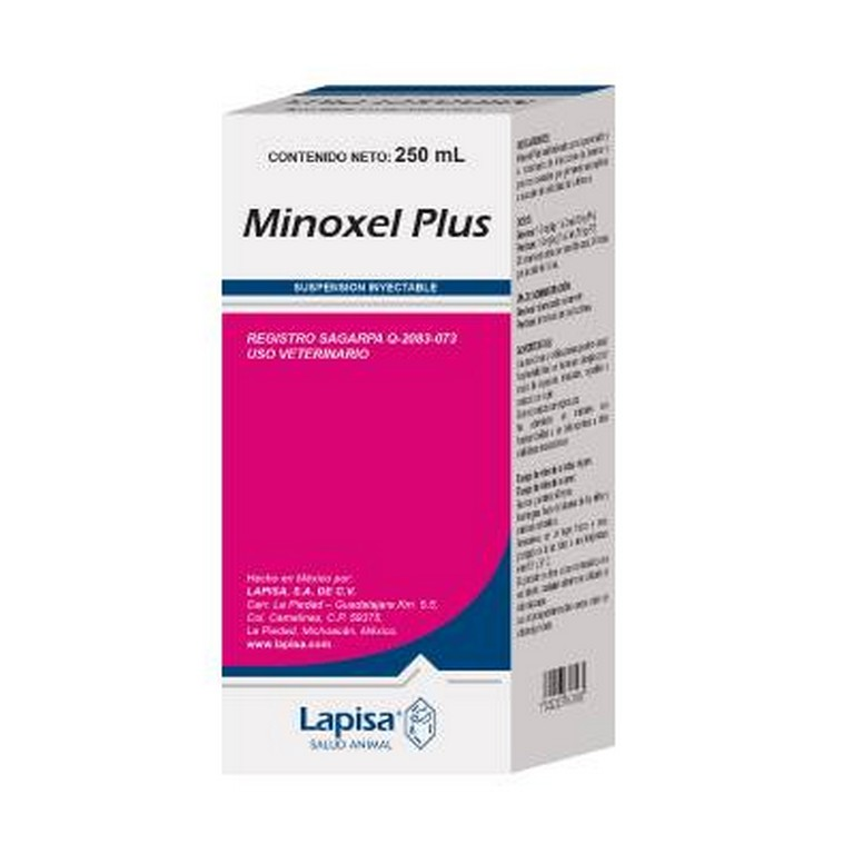 Minoxel Plus 100ML Injetável