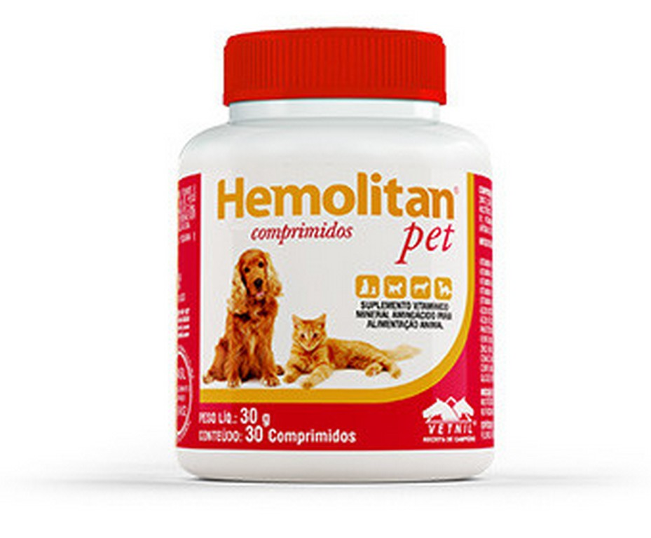 Hemolitan Pet Comprimidos
