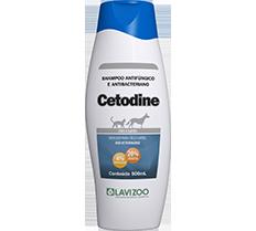 Shampoo Cetodine (125ML, 240ML ou 500ML)