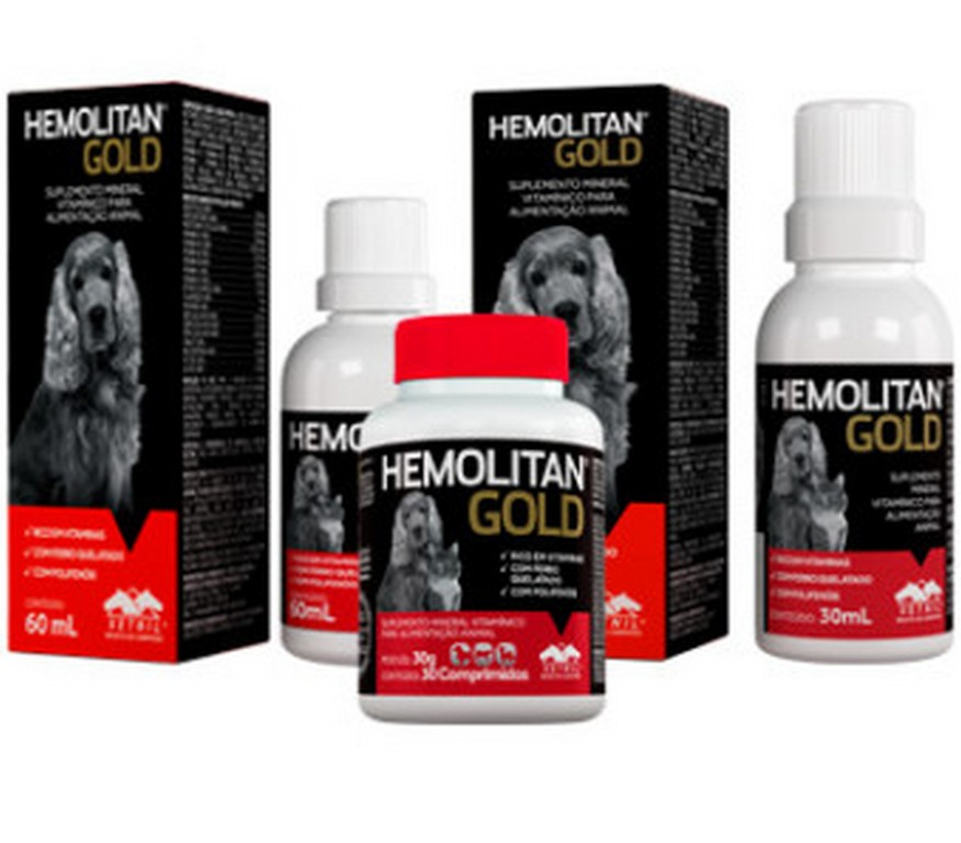 Hemolitan Gold (30ML ou 60ML)