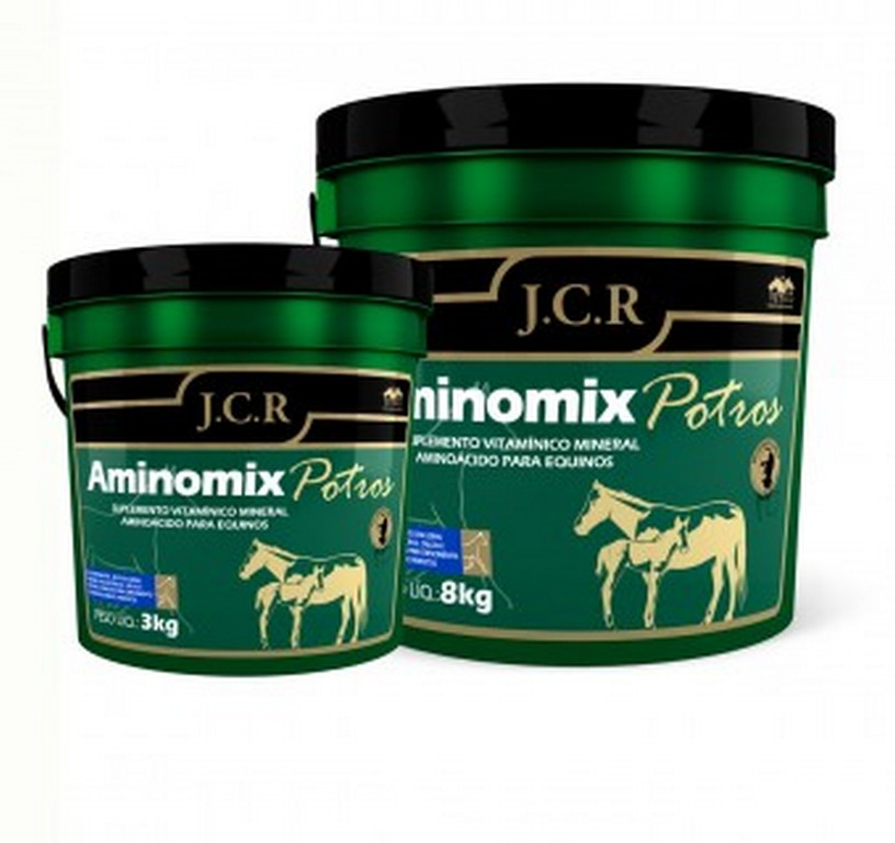 Aminomix Potros JCR (3KG ou 8KG)