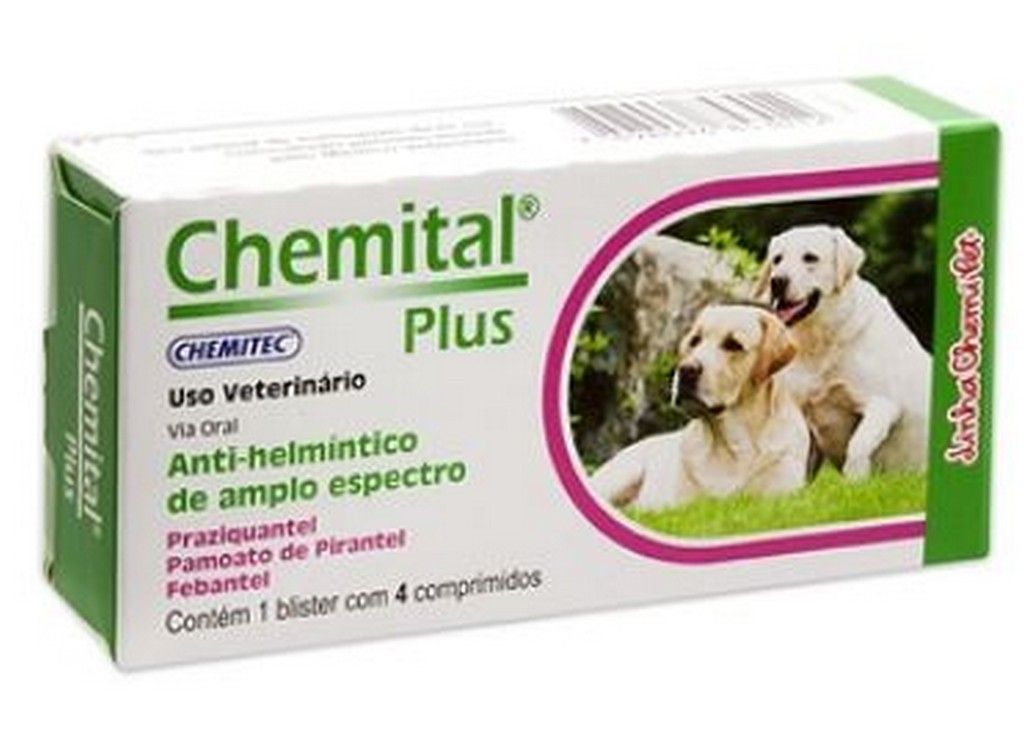 Chemital Plus 660MG (4 comprimidos)