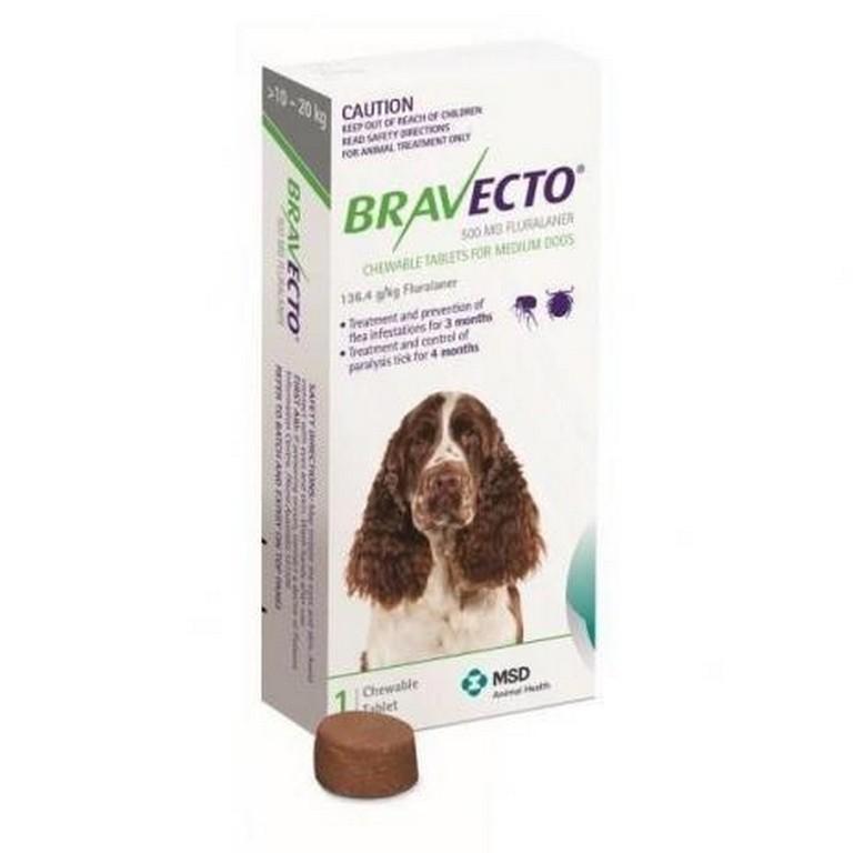 Bravecto 10KG - 20KG (500 mg)