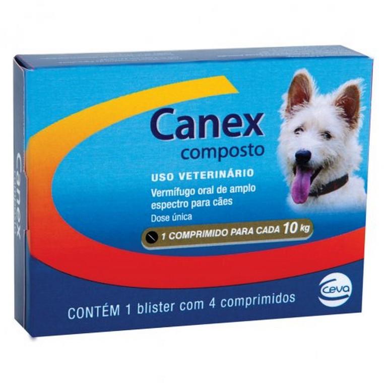 Canex Composto (4 comprimidos)