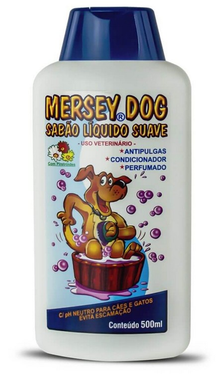 Shampoo Mersey Dog Suave 500ML