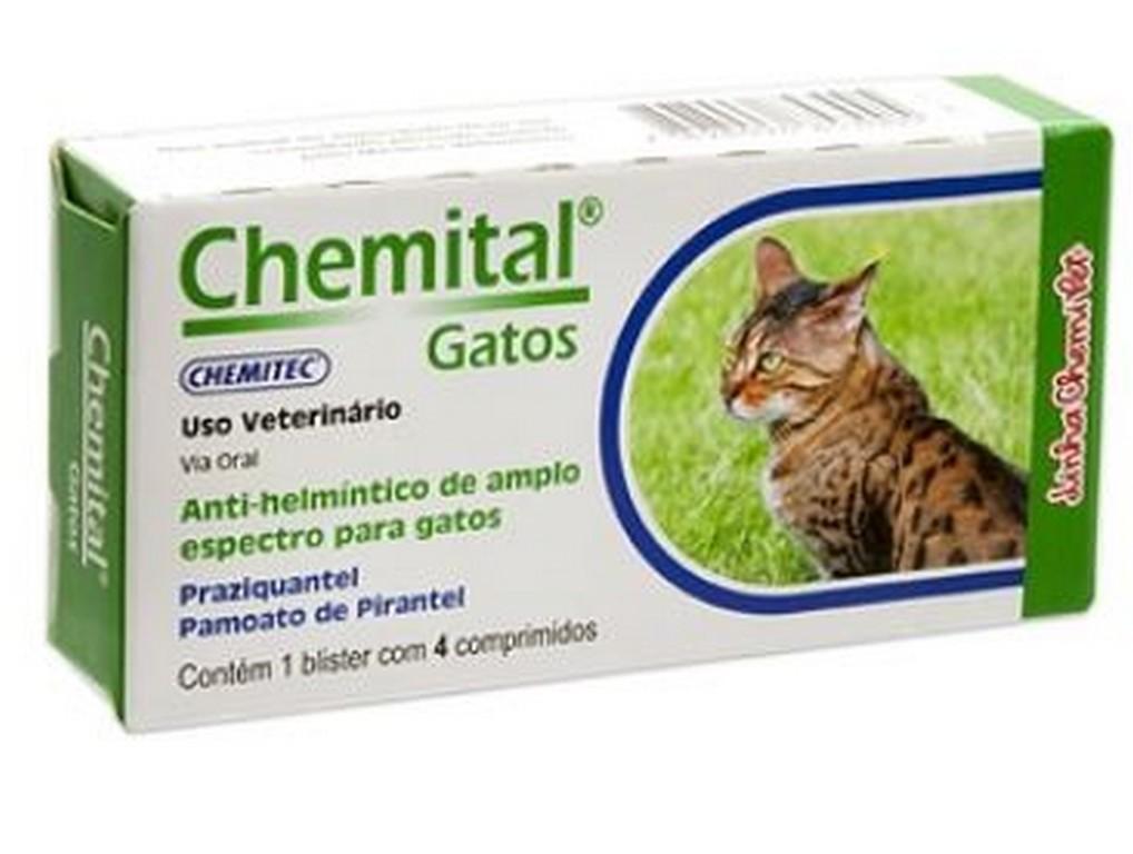 Chemital Gatos (4 comprimidos)