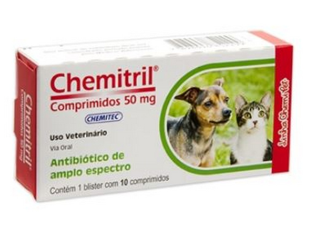 Chemitril 50MG (10 comprimidos)