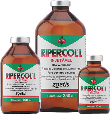 Ripercol Injetável (30ML, 100ML ou 250ML)