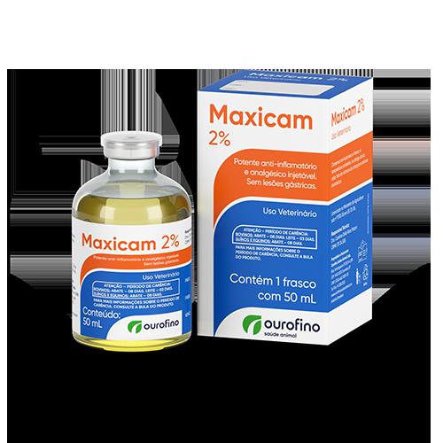 Maxicam 2% Injetável