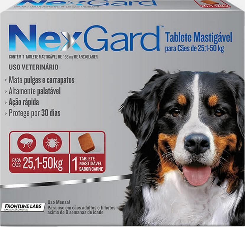 NexGard 25KG - 50KG (1 comprimido)