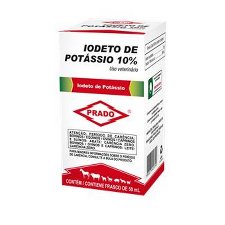Iodeto de Potássio 10%